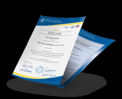Diplom Zertifikat Institut